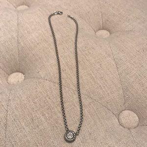 David Yurman Diamond Cookie Necklace